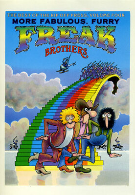 Freak Brothers Front Cover