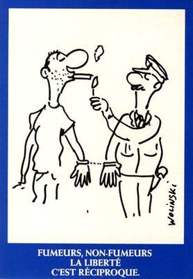 Fumeurs, Non Fumeurs, la Liberté C'est Réciproque
