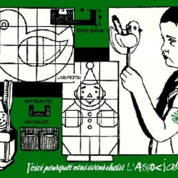 Carte postale L'Association