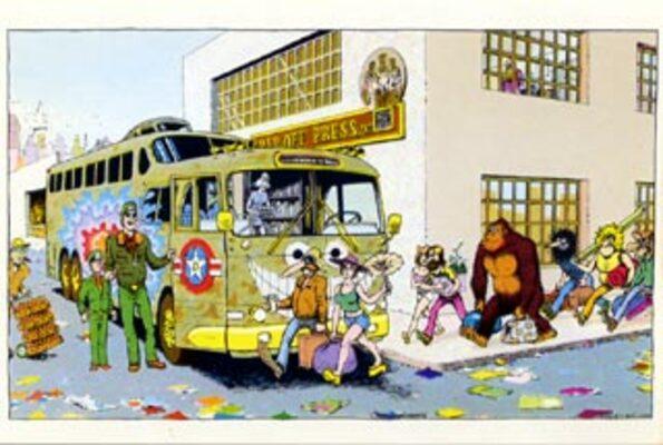 The Rip Off Press Private Bus