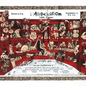 Carton d'Adhésion à l'Association