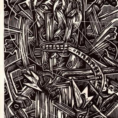 Linogravure Bolino