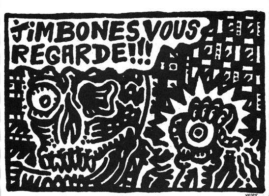 Illustration d'Y5/P5 extraite de Artqlon,  l'Art dans tous ses états, 1989.