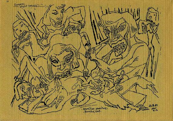 Bruno Richard dans ArtQlon Tartares Spécial Cannibal