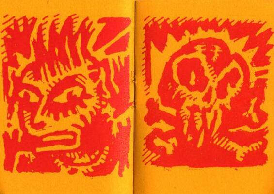 Double page extraite de Bad Boys, d'Y5/P5, collection Microbes
