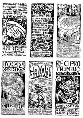 Page de pub extraite de Chacal Puant n°6, 1992
