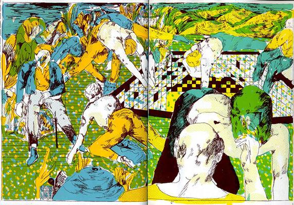 Illustration de Gotier extraite de Danse, 2020