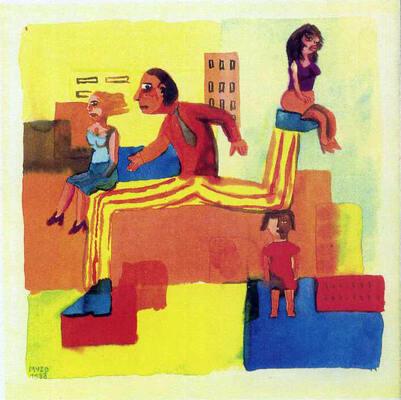 Illustration de Muzo extraite de La boîte de punaises la boîte d'épingles, 1992