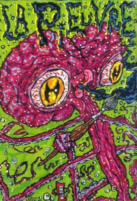 Quatrième de couverture de La Pieuvre n°1 réalisée par Huger