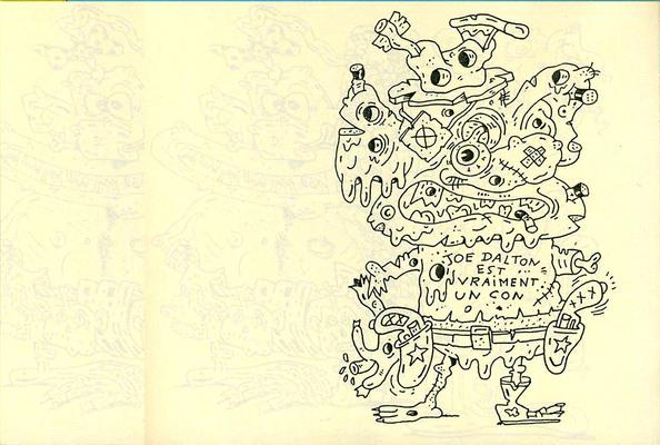 Page extraite de Pyon, éd. Fish & Chips - 2000