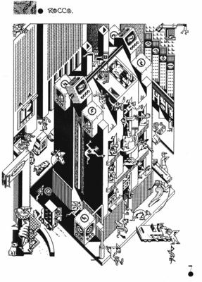 Illustration de Rocco extraite de Sortez la Chienne n° 2