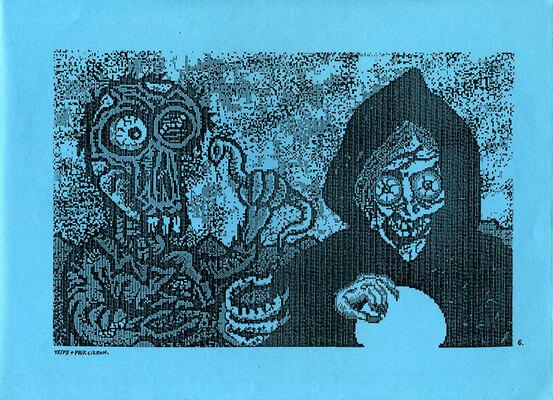 Illustration de Paik Citron et Y5/P5 extraite de Underground Computer, ca. 1990