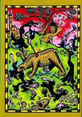 Quatrième de couverture de 1348 de Marcel Ruijters, Ed. Le Dernier Cri - 2011