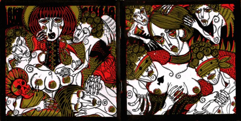 Double page extraite de A Jak, Marie Meier