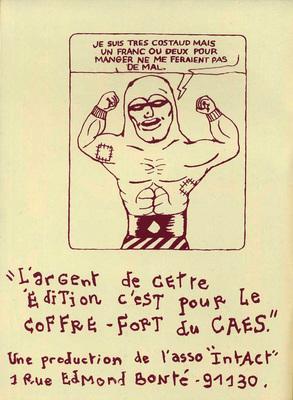 Illustration de Pierre La Police extraite de CAES, 1994