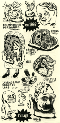 Page extraite de Canned Monster