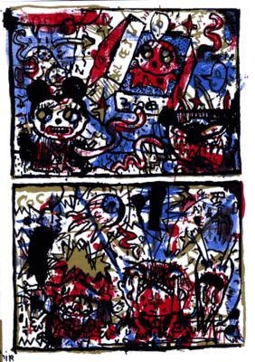 Illustration de Pakito Bolino extraite de Coco Bel Oeil n° 4