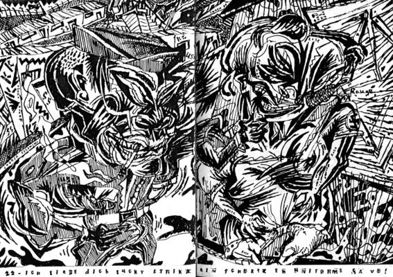 Afrikan Baohaos n°01 - Double page