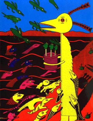 Mark Beyer dans ESDS n° 37 - Art Dégénéré Bis, 1992