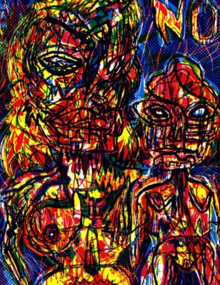 Bruno Richard dans ESDS n° 37 - Art Dégénéré Bis, 1992