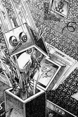 Illustration de Pascal Doury extraite de Dans le Culbe