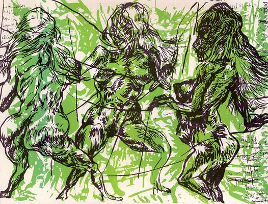 Page 9 de My Garbage, par Bruno Richard, éd. Arbitraire 2013