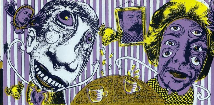 Extrait d'une illustration de Jean Kristeau