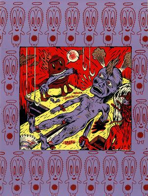 Couverture du cahier n° 3 du Dernier Cri n° 10, éd. Le dernier cri, 1995.