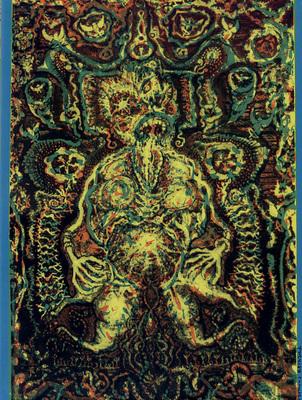 Couverture du cahier n° 5 du Dernier Cri n° 10, éd. Le dernier cri, 1995.