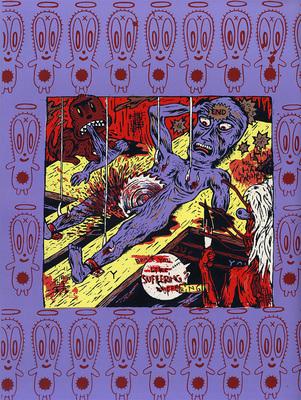 Illustration de Stéphane Blanquet extraite du Dernier Cri n° 10, éd. Le dernier cri, 1995.