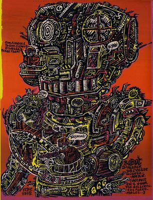 Illustration d'Y5/P5 extraite du Dernier Cri n° 10, éd. Le dernier cri, 1995.