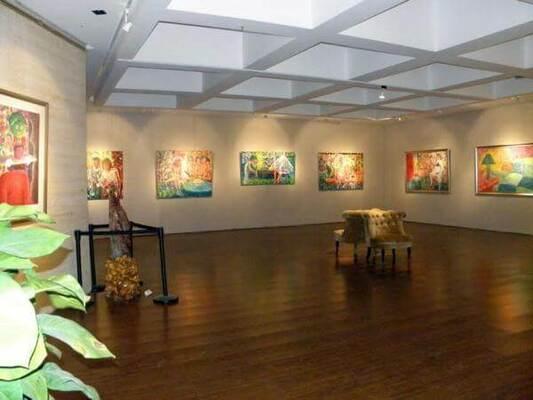 Aperçu de l'exposition Olivier Allemane, galerie Guan Xiang à Taipei, Taïwan 2010