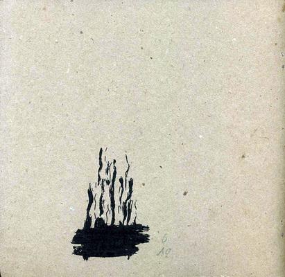 Quatrième de couverture de XXX, Blexbolex, auto-édition, 1992.