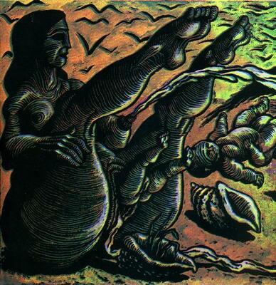 Illustration extraite du livret accompagnant The End de Rémi