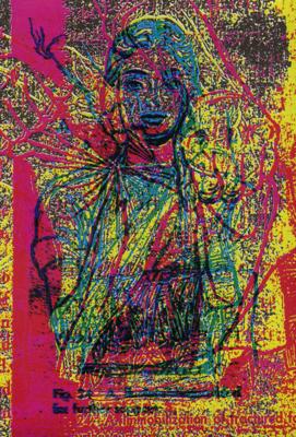 Illustration extraite de Fist Raid, Portfolio d'Henriette Valium, éditions Le Dernier Cri - 2011