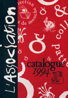 Catalogue L'Association 1994