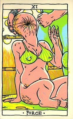 Illustration d'Olivier Texier extraite de Tarot Taré