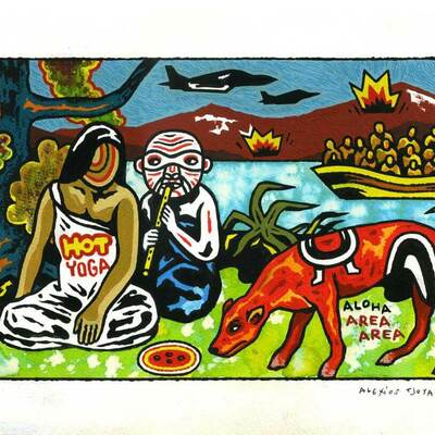 Illustration d'Alexios Tjoyas